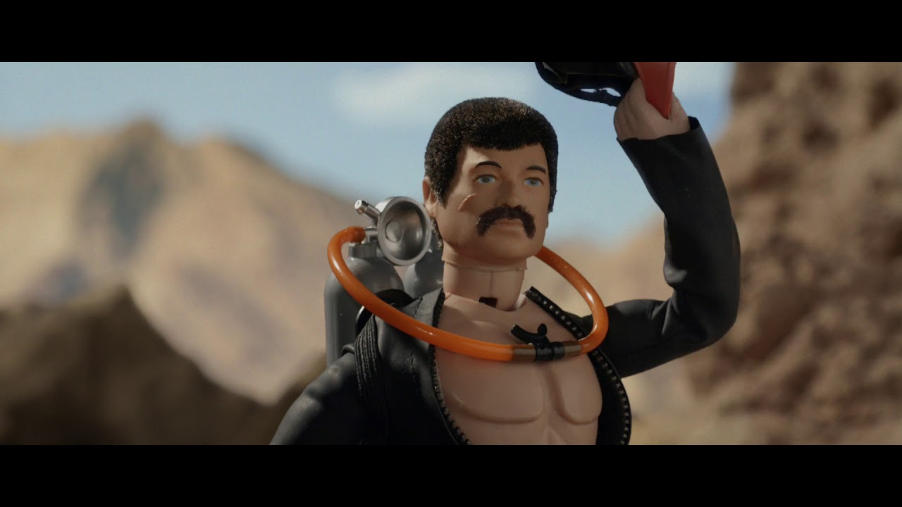 Action Man gets even more epic in the new Money Supermarket advert