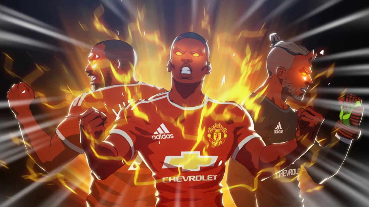 Manchester United – Wake Up The Red Devil