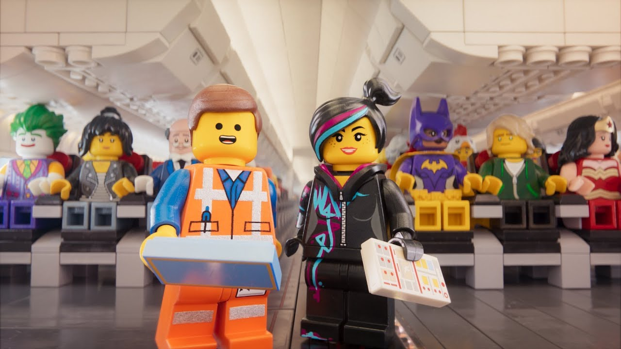 Watch the LEGO Movie cast teach airplane safety for Turkish Airlines