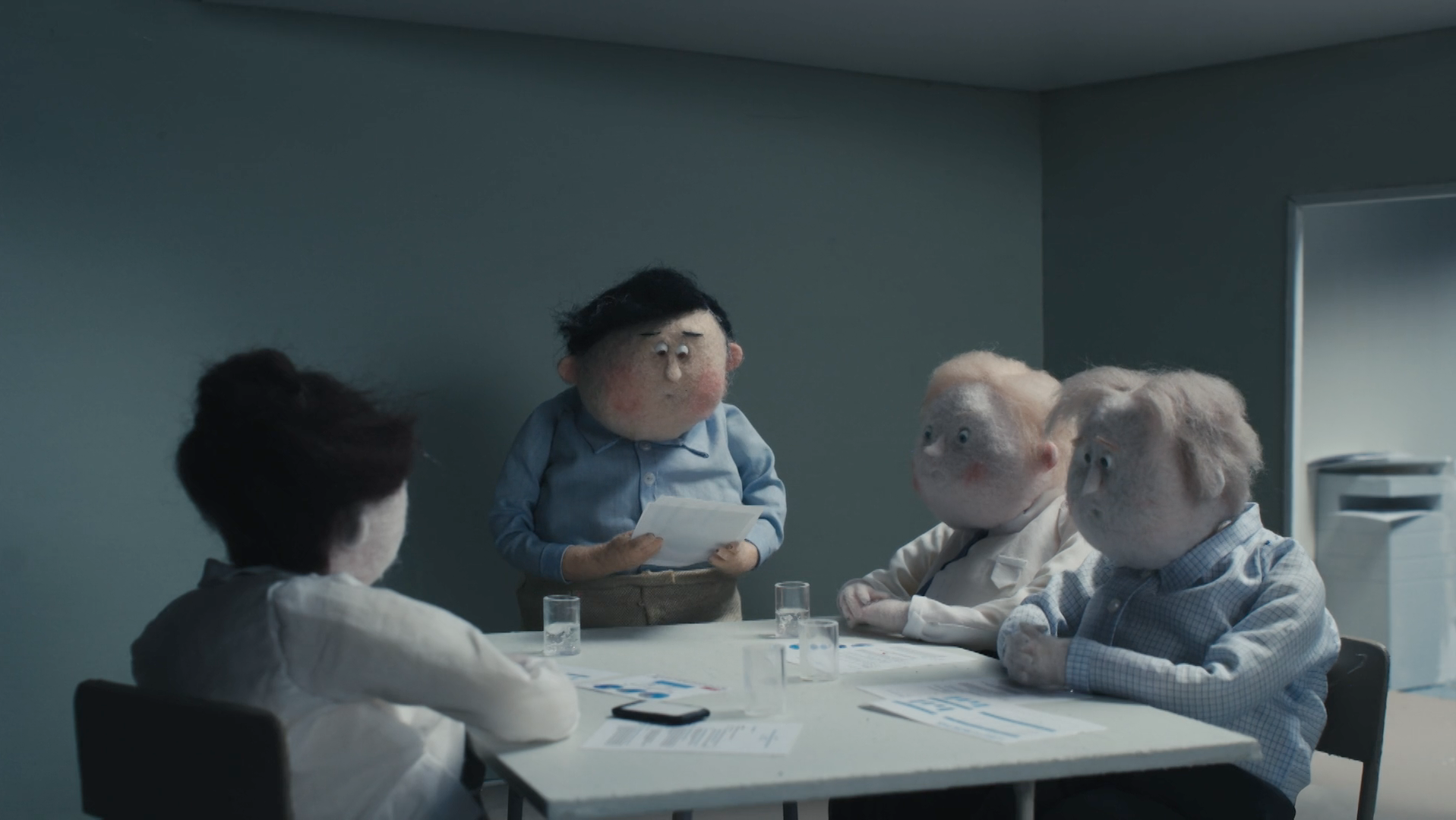"""Enough is enough in the hilarious stop-motion film """"ENOUGH"""""""