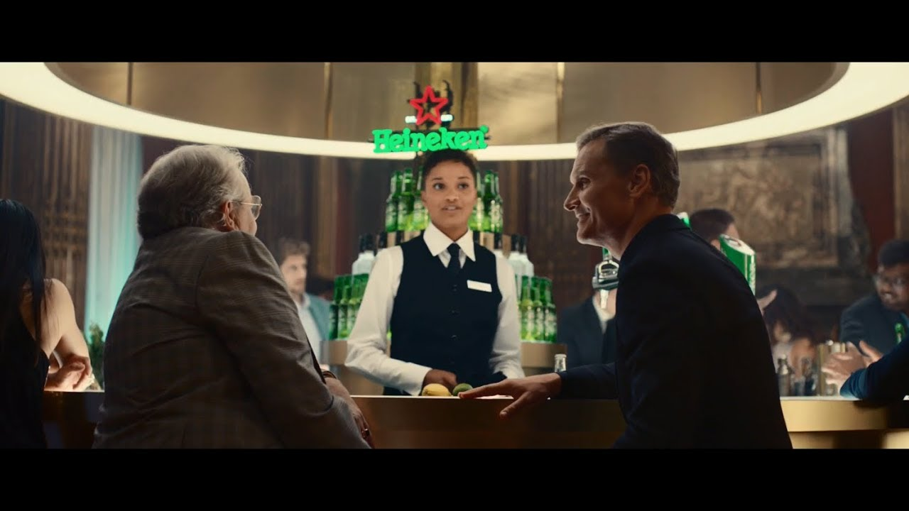 "F1's David Coulthard is the ""Perfect Man"" in this swanky Heineken advert"
