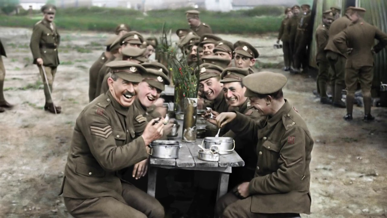 Watch the trailer for Peter Jackson's WW1 documentary They Shall Not Grow Old