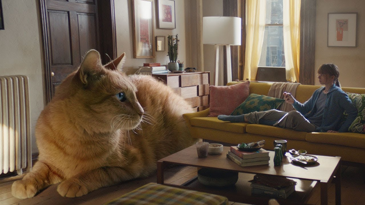Apple's Growth Spurt advert features a giant cat and more…