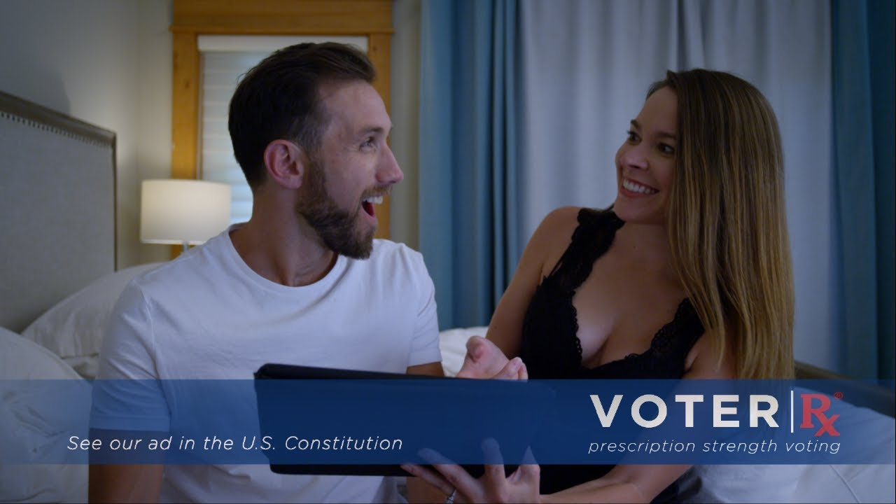 This spoof advert for voting will cure your Electile Dysfunction