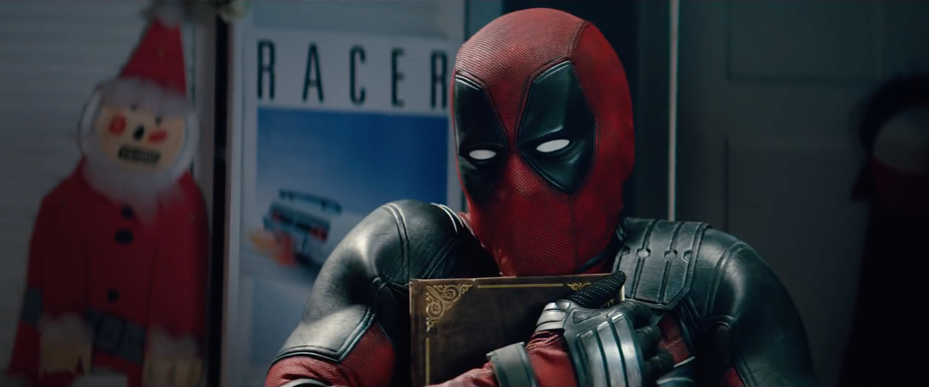 yup a pg 13 rated deadpool christmas film is being released