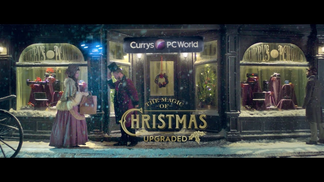 Curry's Christmas advert is one big juxtaposition