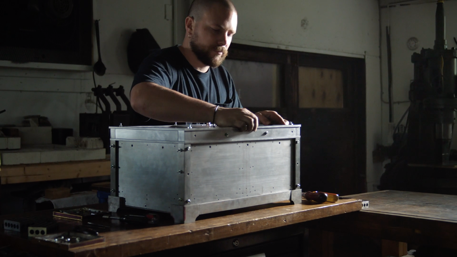 Watch the creation of a magic box in the extremely satisfying Forged and Filed