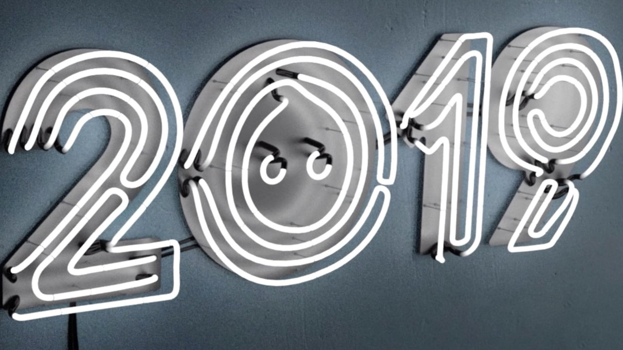 Usher in the 2019 New Year with these playful animations