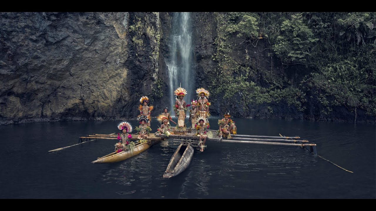 Watch photographer Jimmy Nelson's 10 year project photographing Indigenous Cultures