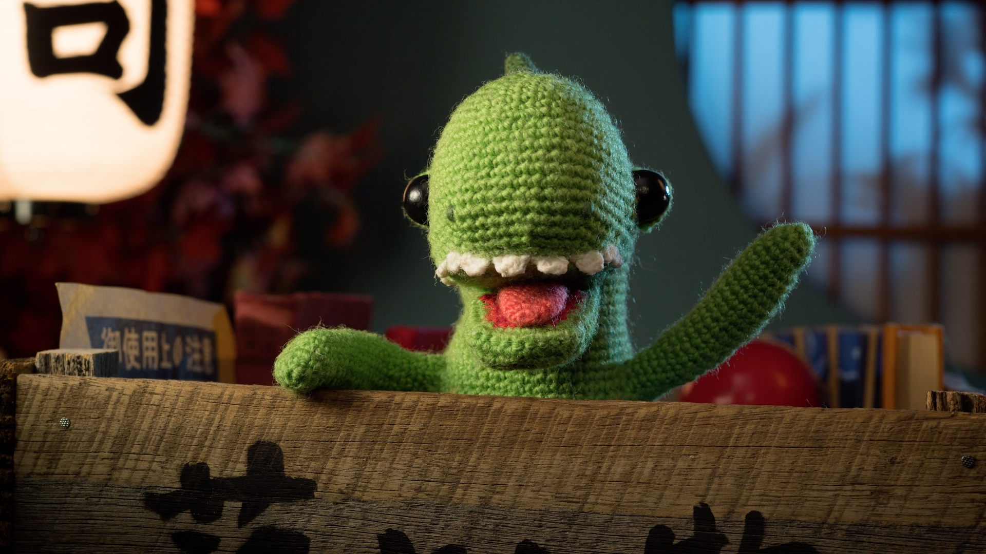Stop motion knitted toys find love in Lost & Found (sort of)