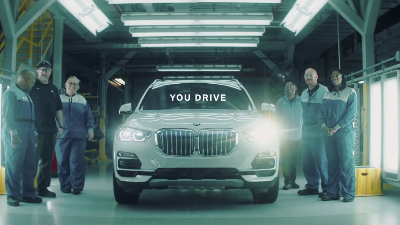BMW drive the new X5 in a straight line from South Carolina to Los Angeles (ish)