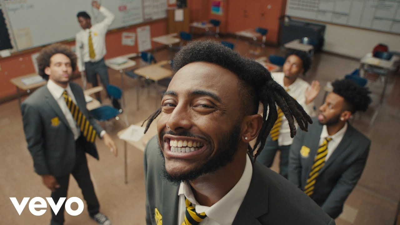Aminé's 'BLACKJACK' music video channels the School Of Rock