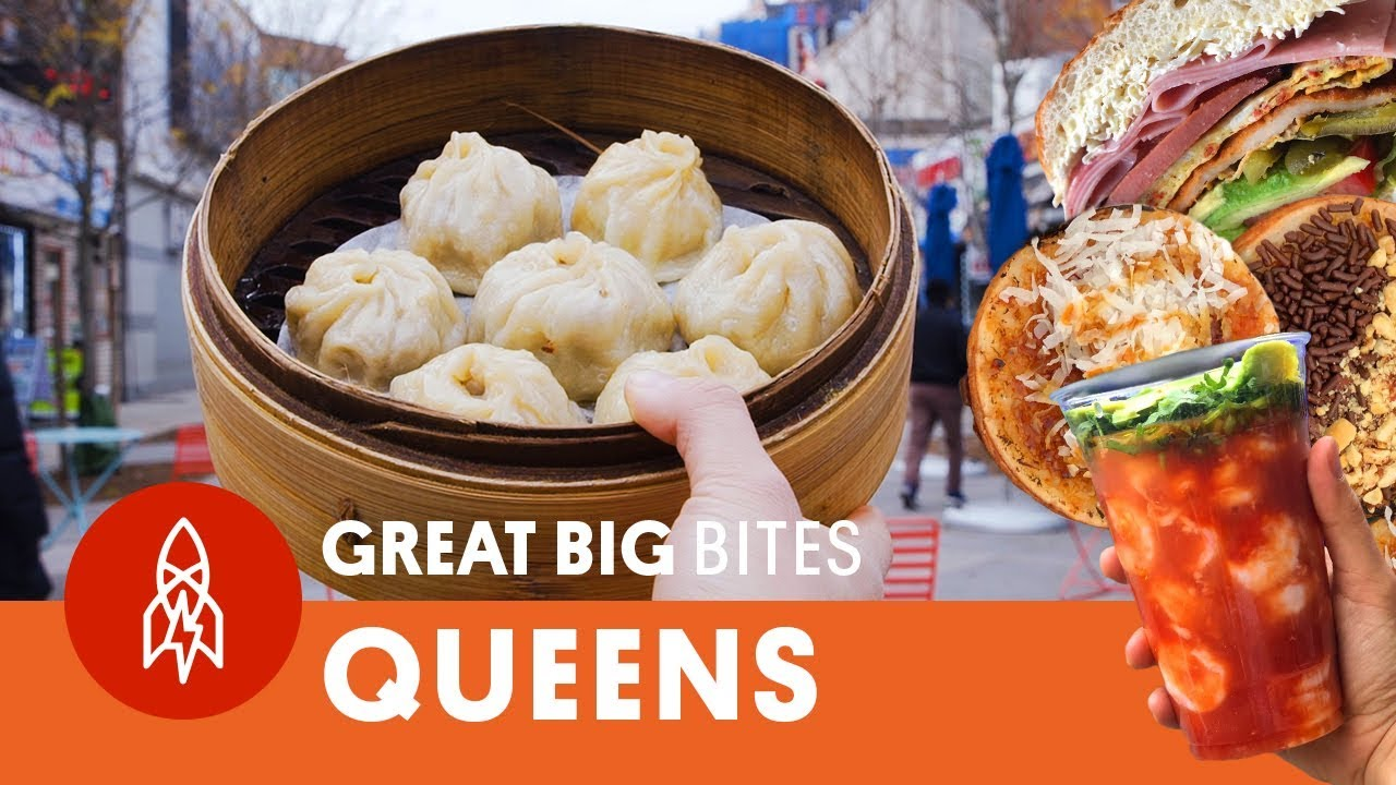Great Big Story find the best street food in Queens, New York