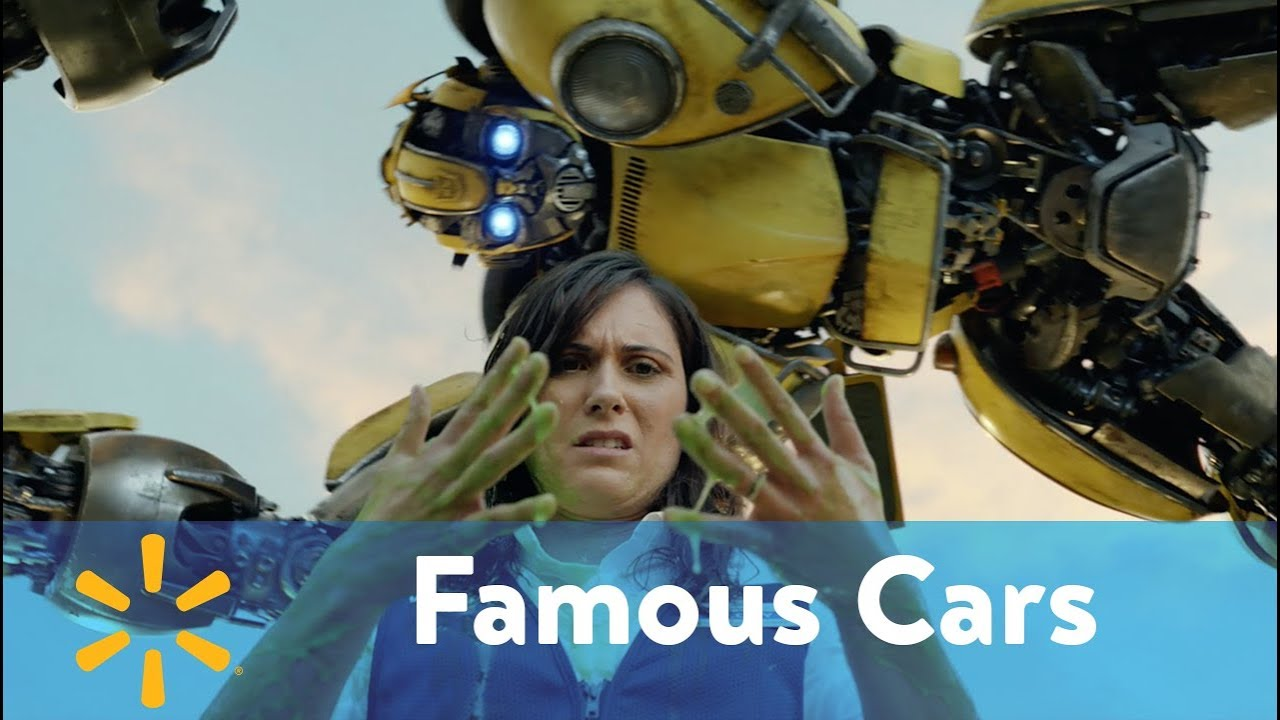 "Walmart's ""Famous Cars"" advert is a blockbuster car-show"