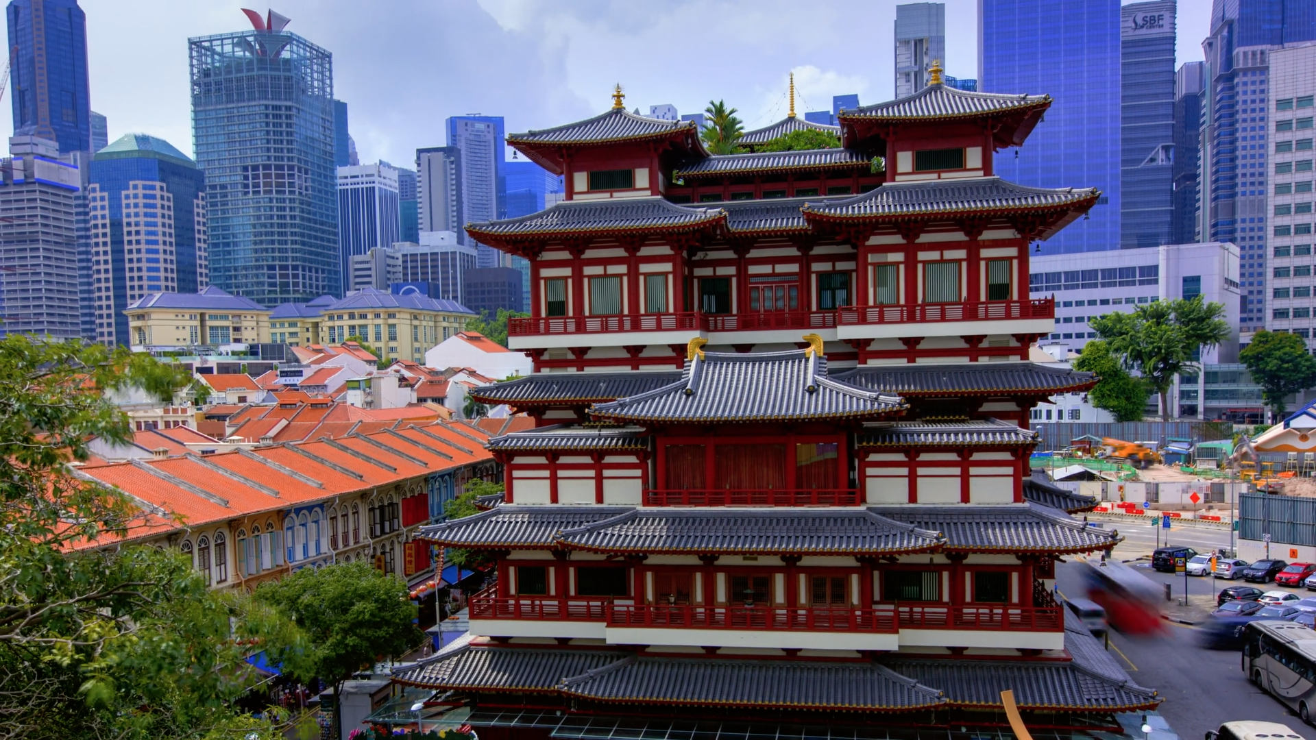 Say Hello to Singapore in this eye-popping flow-motion travel film