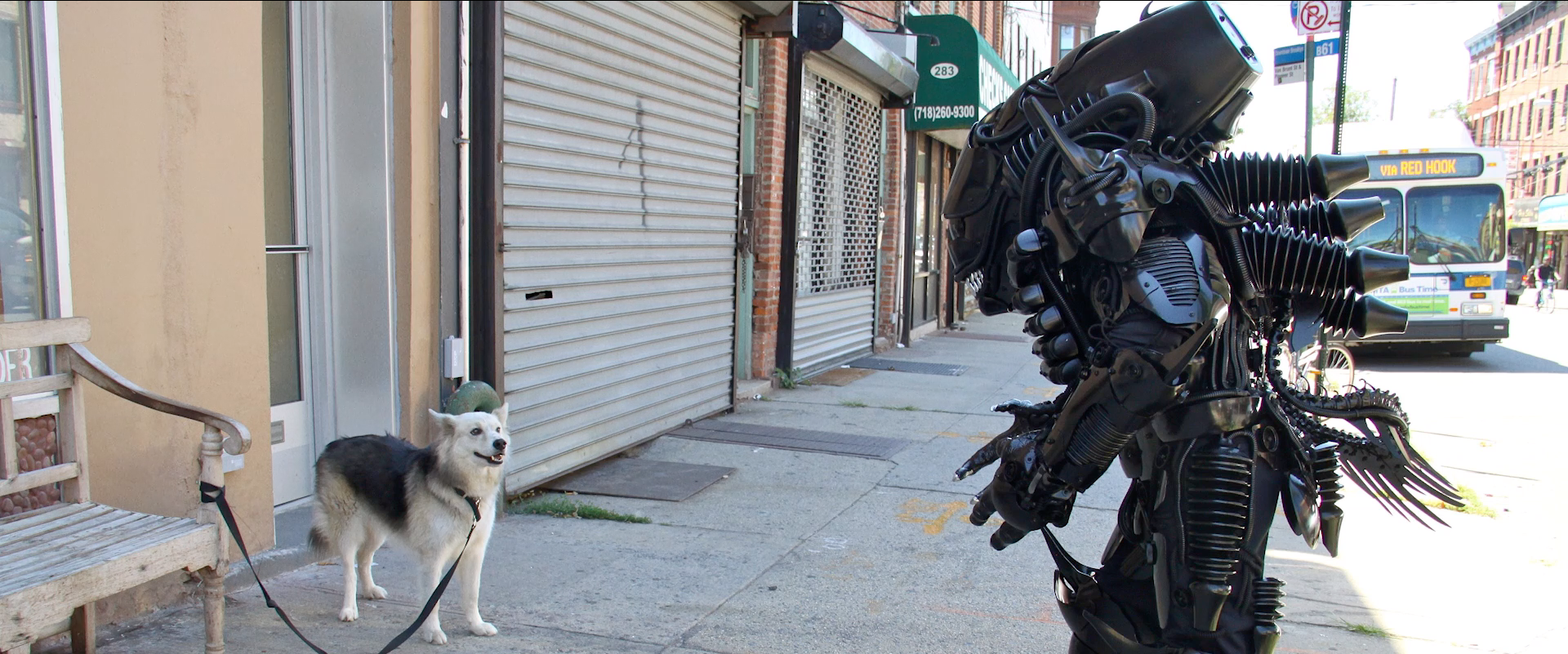 "Meet Brooklyn's best robot-builder in ""One Man's Trash"""