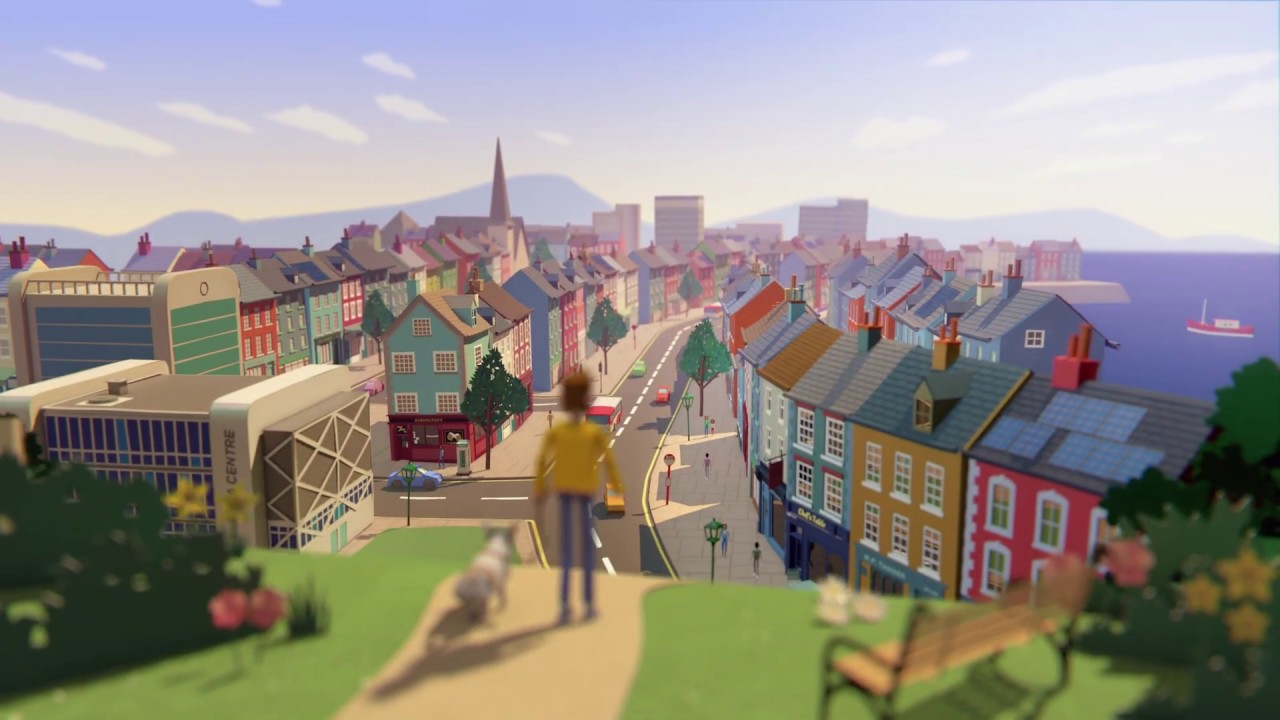 Check out Gas Networks Ireland's beautiful 'Progress Naturally' animation