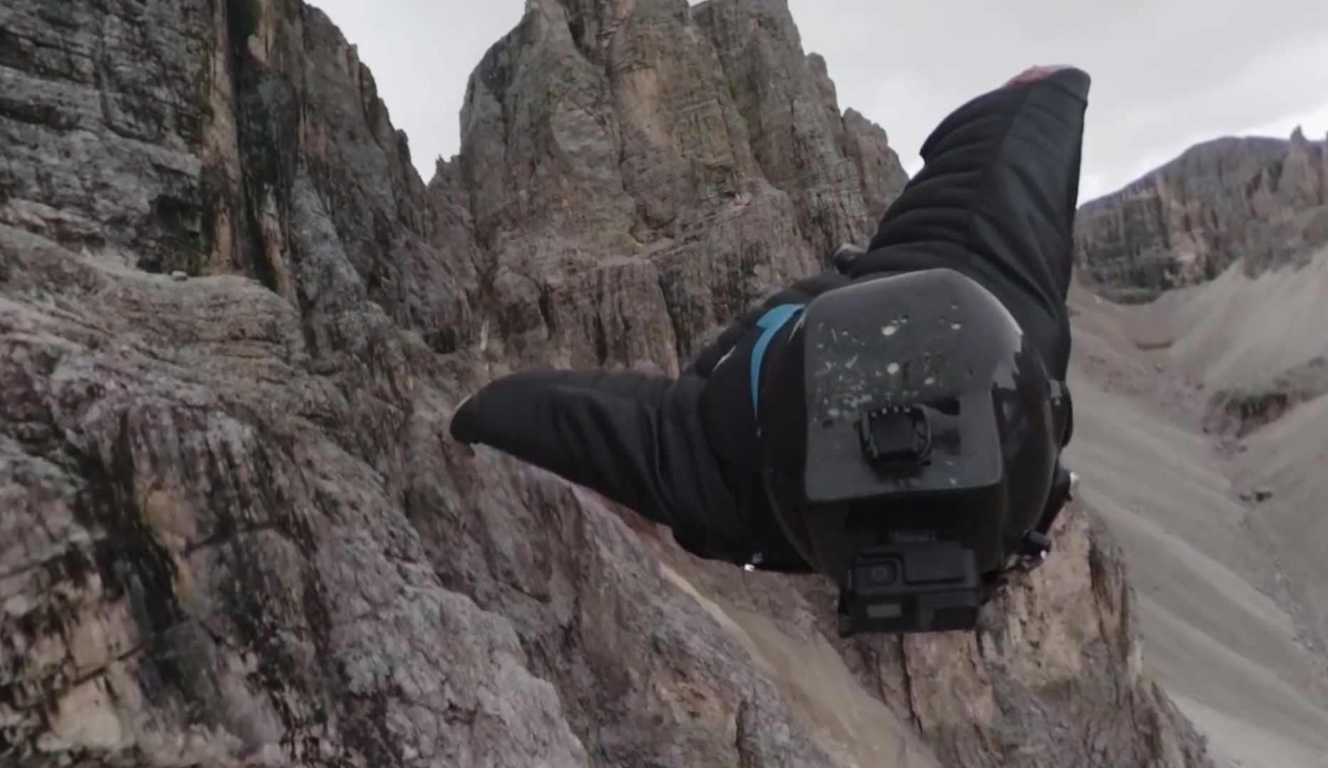 Fly through the Dolomites with wingsuit pilot Jeb Corliss in 'Tales From The Edge'