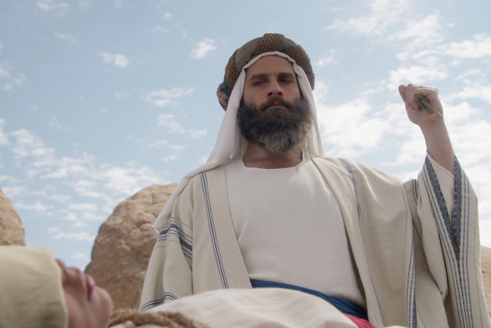 The Bible gets a hilariously dead-pan reimagining in this short film