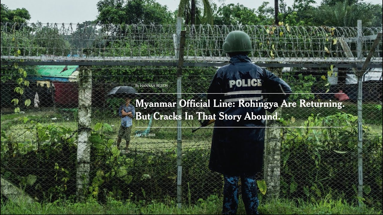 "The New York Times' ""Resolve"" unravels the Rohingya crisis in Myanmar"
