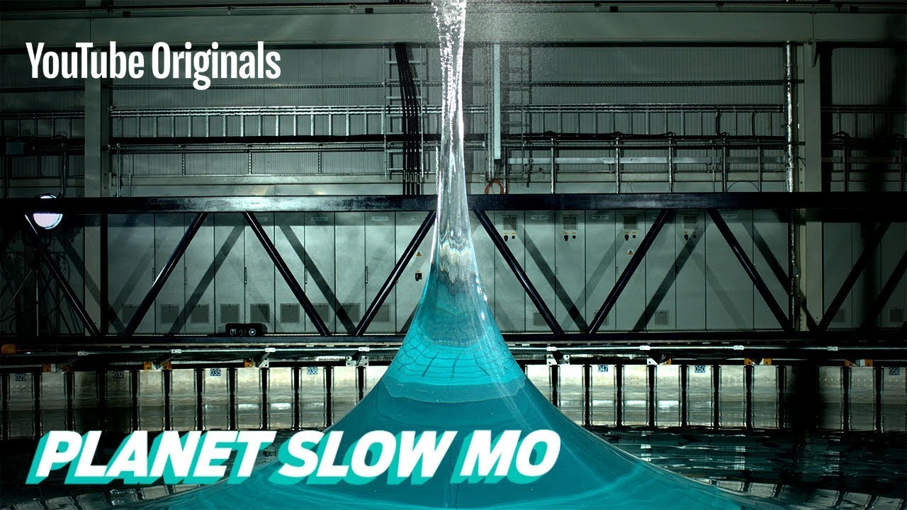 Watch a 90 ft. spike wave in slow motion with the Slow Mo Guys