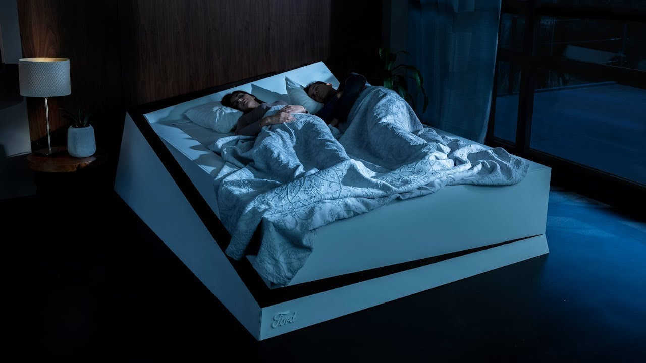 Ford creates a Lane-Keeping Bed for selfish sleepers