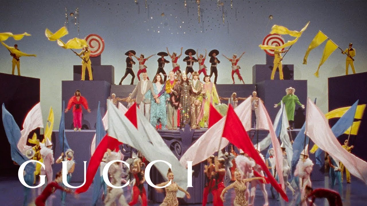 Watch GUCCI's cinema-inspired Spring Summer 2019 Campaign