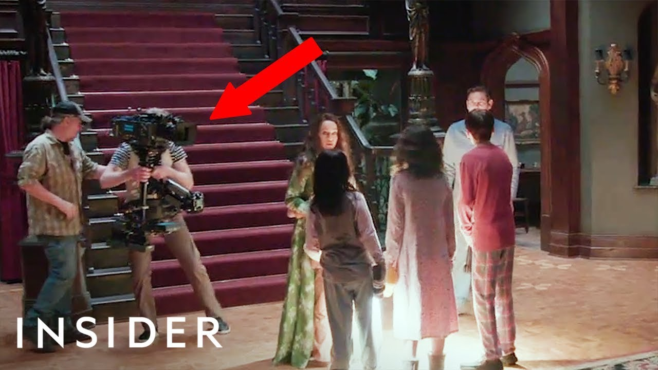 Find out how Netflix shot a 17 minute scene in one take for the 'Haunting of Hill House'