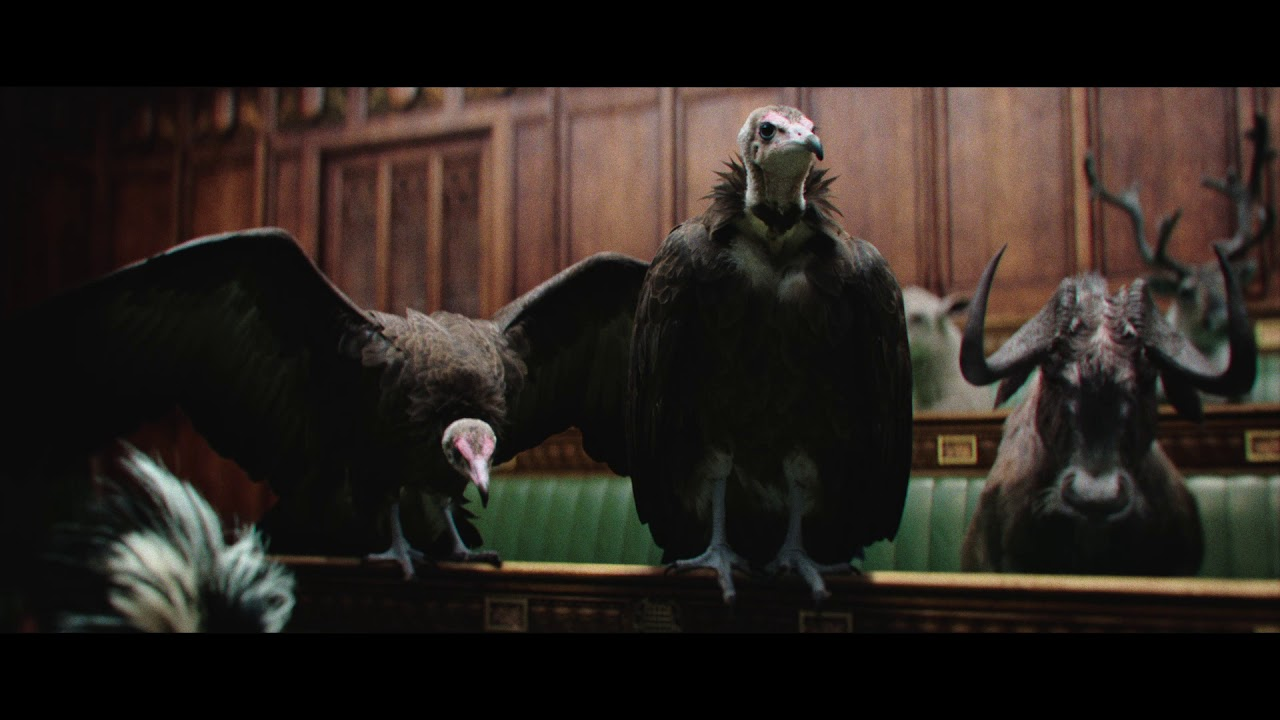 "The Times and The Sunday Times show us ""Westminster Zoo"" in their new ad"