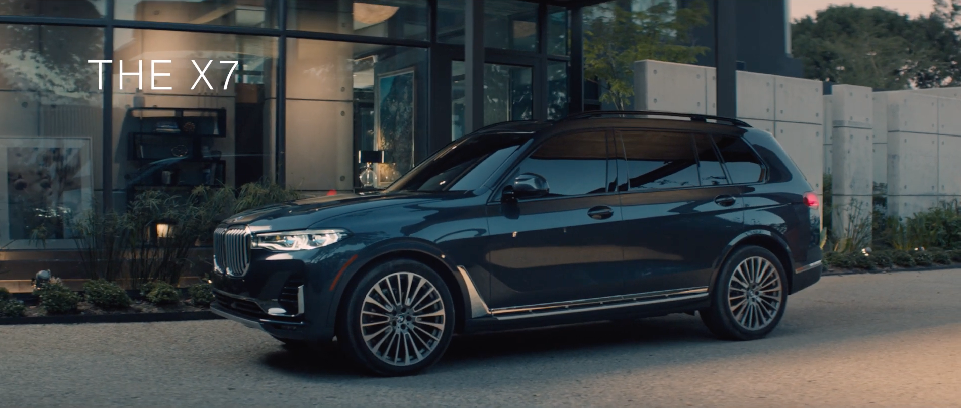 BMW introduce the X7 with this cinematic advert