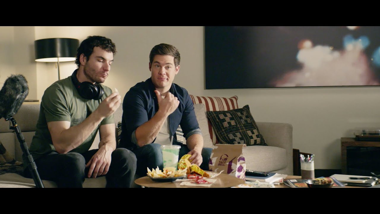 Taco Bell celebrates their new delivery service with an inspiring ad