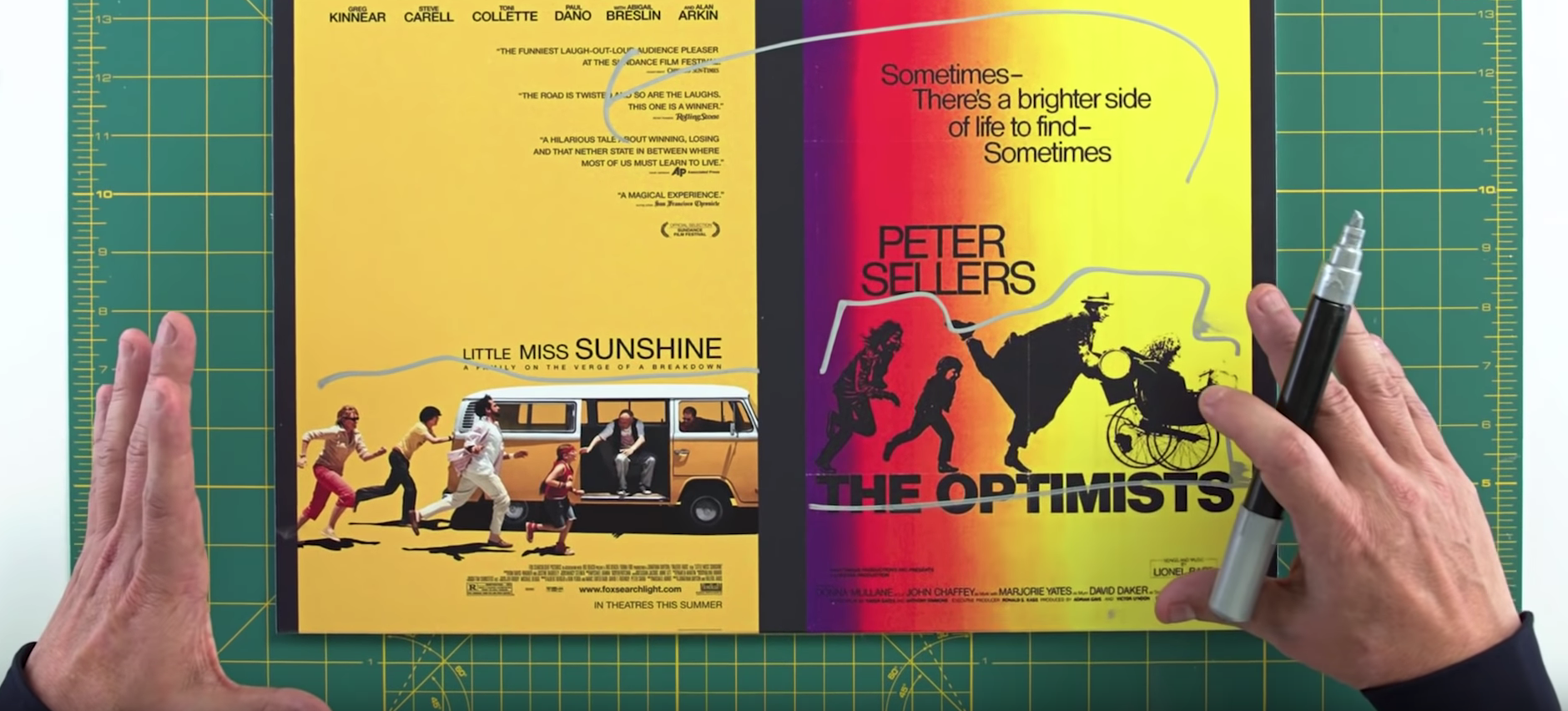 The Secret Science Behind Colours On Movie Posters