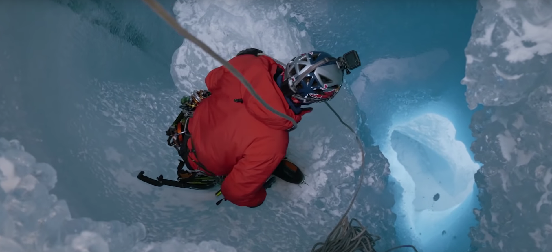 Exploring Greenland's Ice Caves