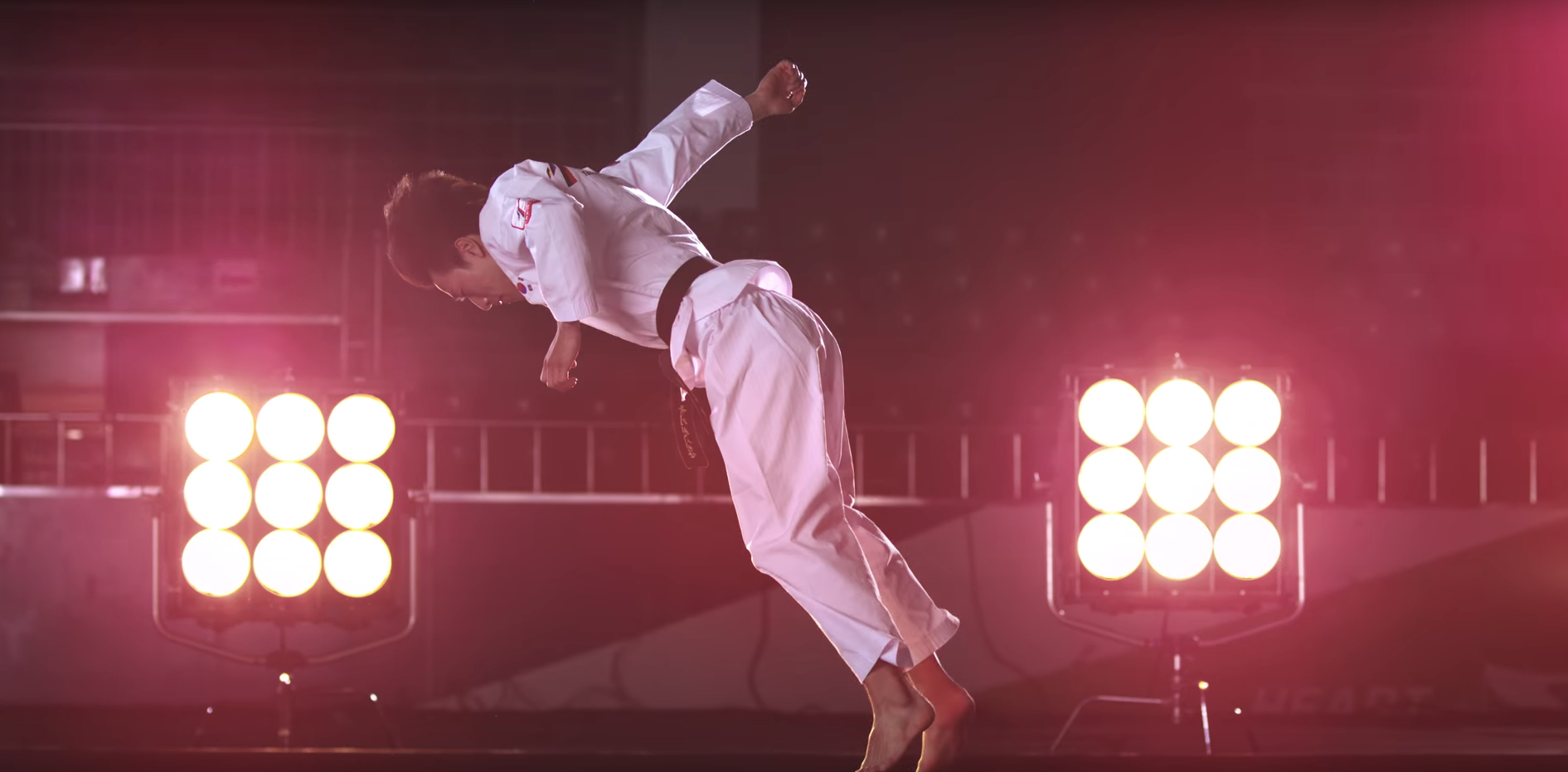 Watch These Insane Taekwondo Stunts In Slow-Motion With the Slo-Mo Guys