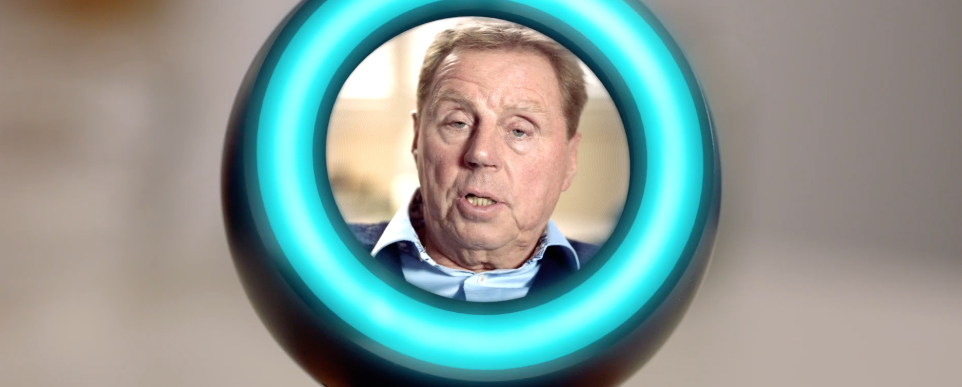 """Hey, Harry!"" Harry Redknapp Stars As A Smart Home Device In New Ad"