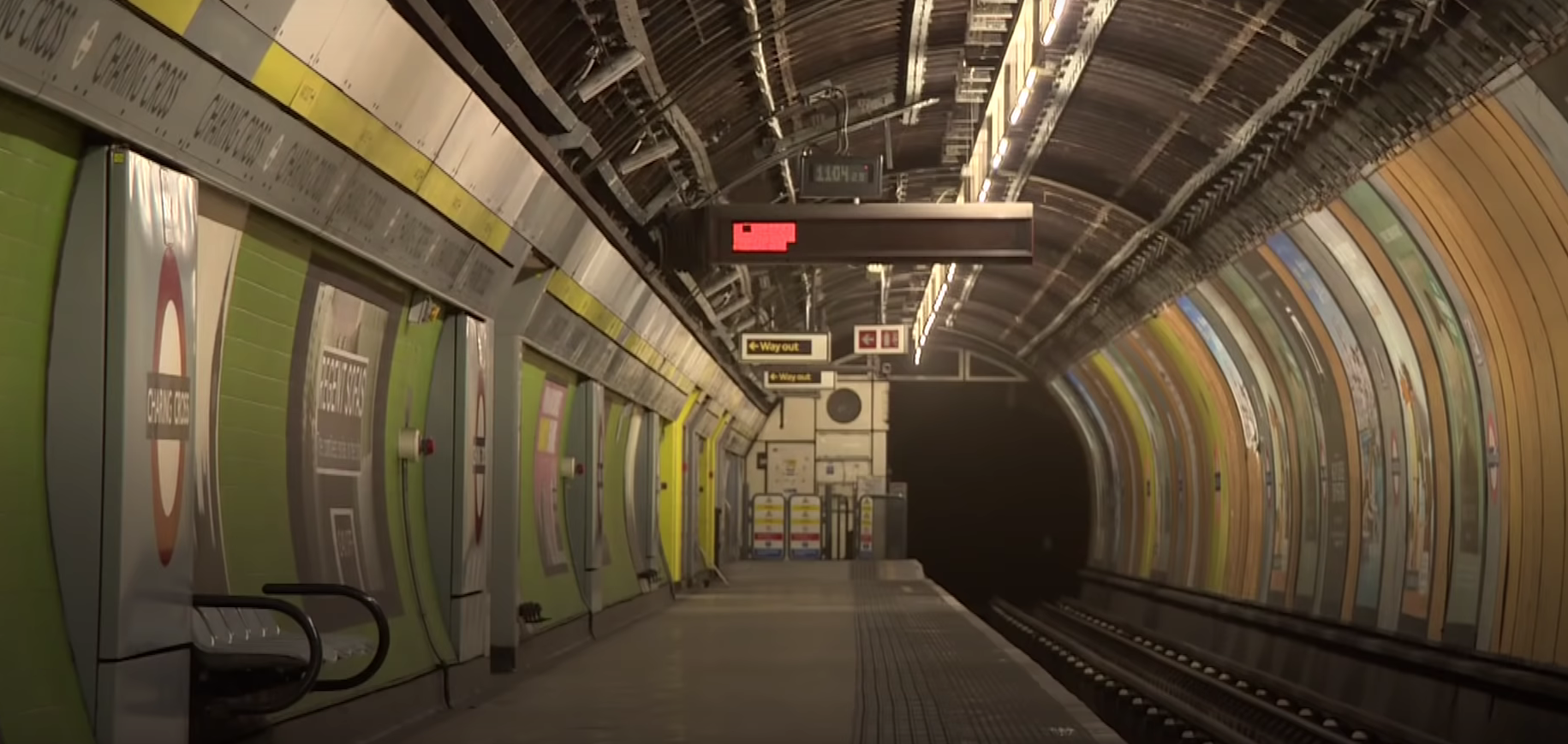 Exploring London's Abandoned Tube Stations