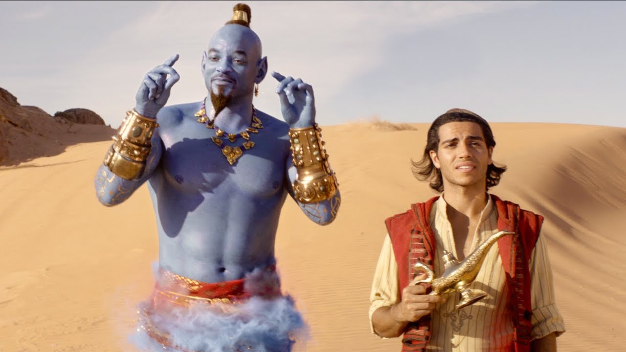 See Will Smith Up Close As The Genie In The First Full Trailer for Aladdin