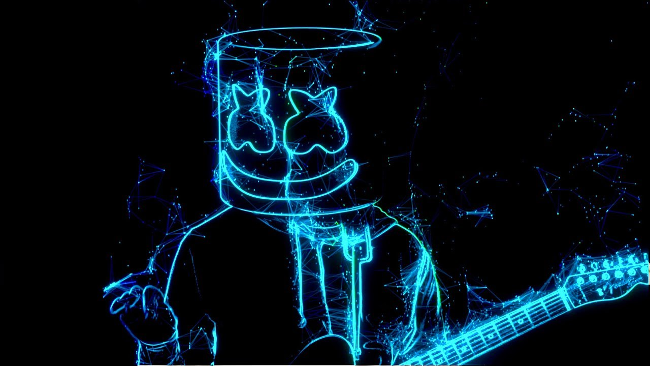 Marshmello Takes Us Into An Awesome Neon World In His Latest Music Video