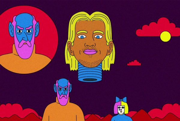 "L.S.D Release Trippy Animated Music Video For ""Genius"""
