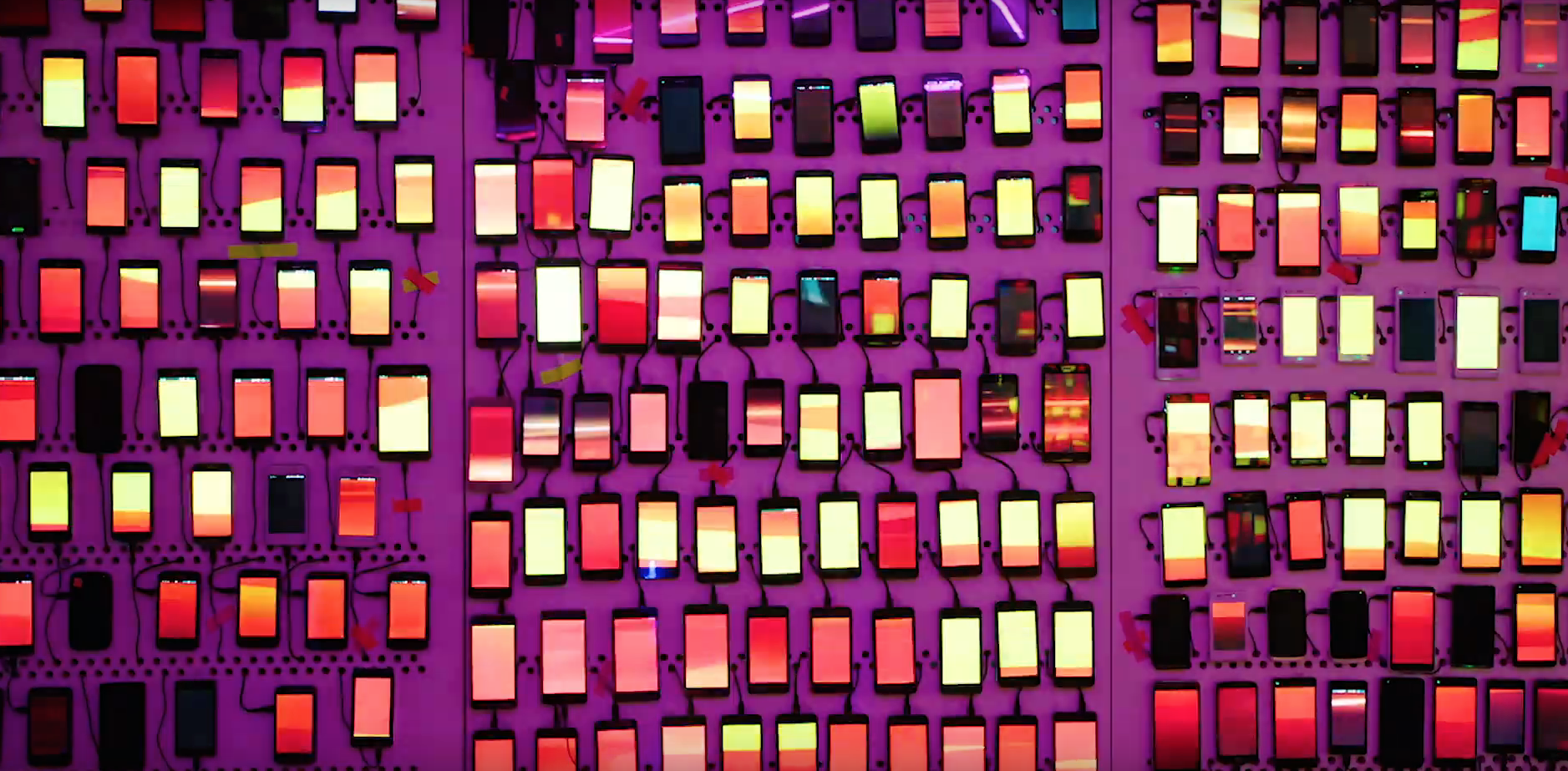 Stop Scrolling and Start Partying! Desperados Create Amazing Light Display Using Smartphones