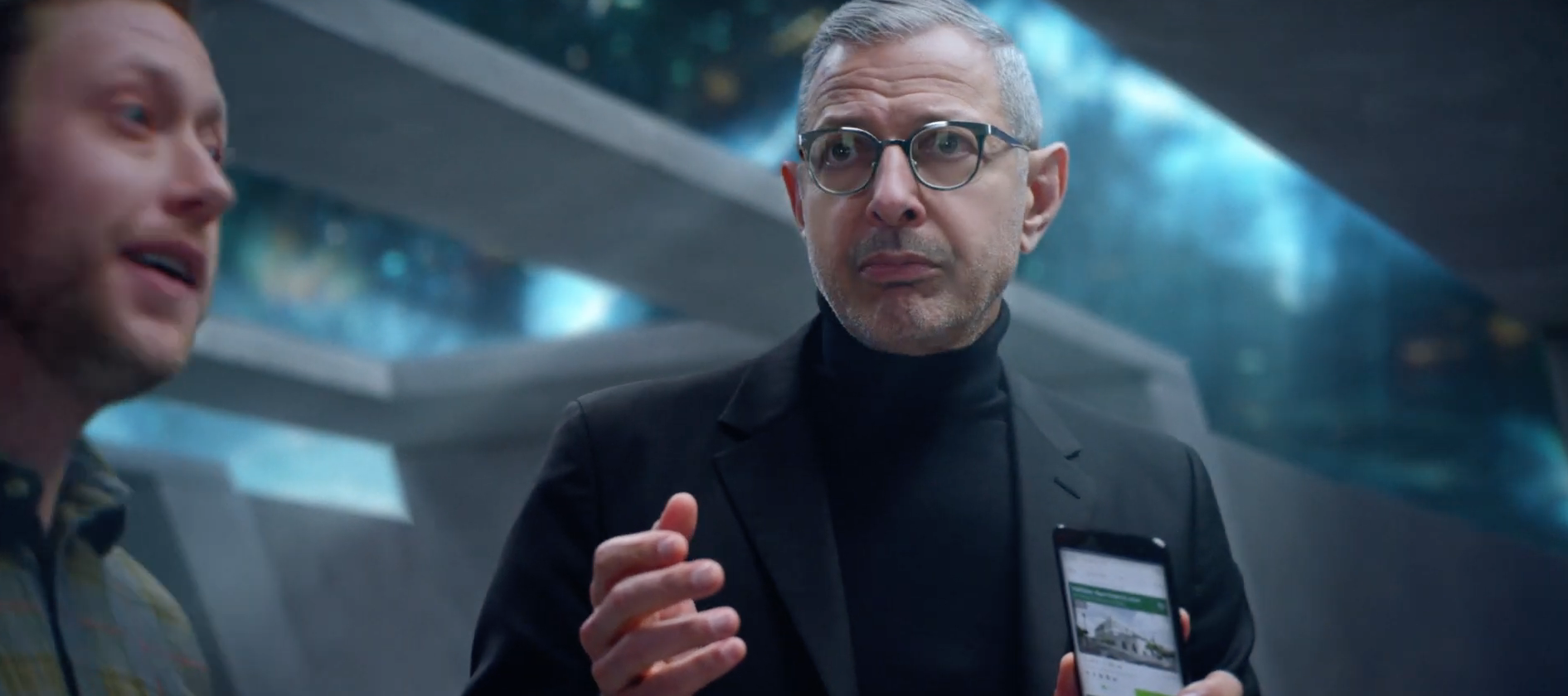"Step Into The ""You-Niverse"" – Jeff Goldblum Stars In Futuristic Ad"