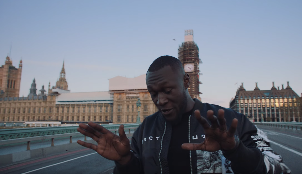 "Stormzy Takes Us Around London In Video For ""Vossi Bop"""