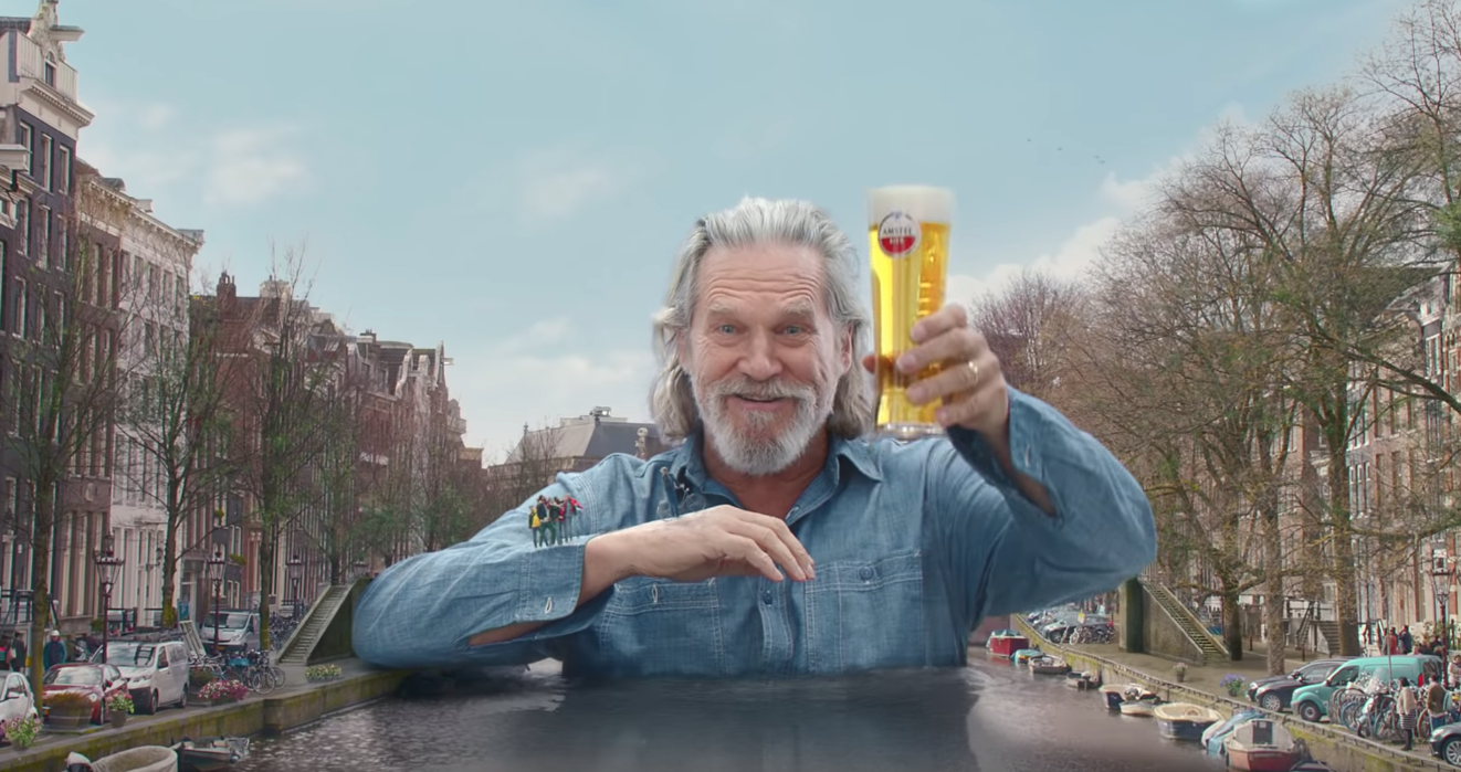 Join Jeff Bridges On a Trip To Amsterdam With Amstel