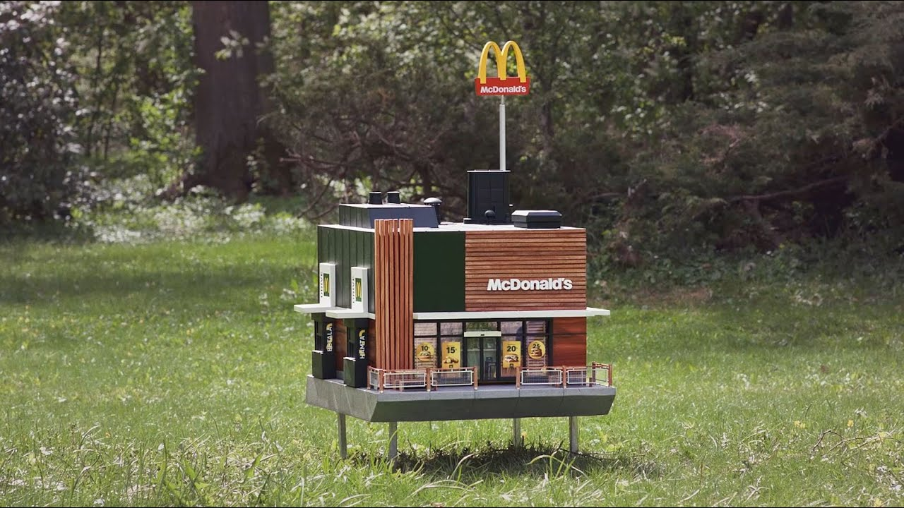 Take A Look Inside The World's Smallest McDonald's: The McHive