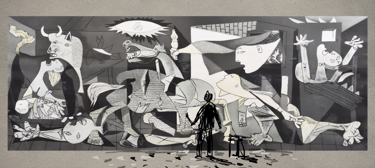 Amazing Animation Unpacks Picasso's Most Famous Artwork