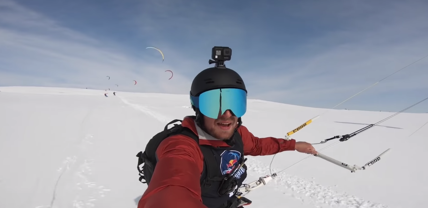Go On A Crazy Snow Kiting Adventure In Norway!