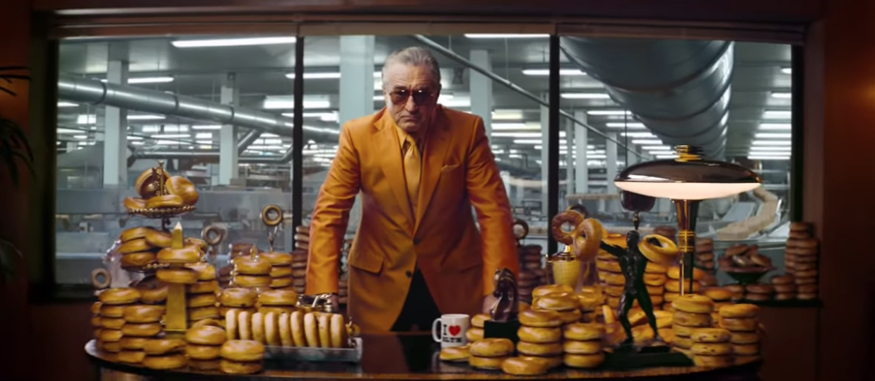 Robert De Niro Plays A Bagel Mobster In Hilarious Warburtons Ad