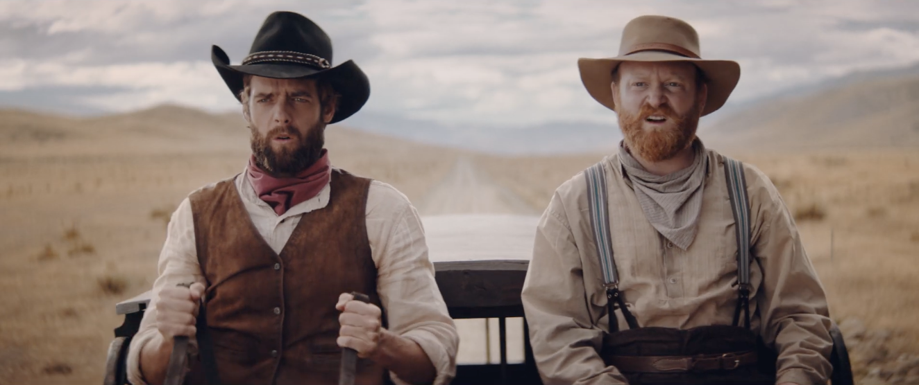 Kit kat take a trip to the wild west in this funny ad the video suite - Wild west funny ...