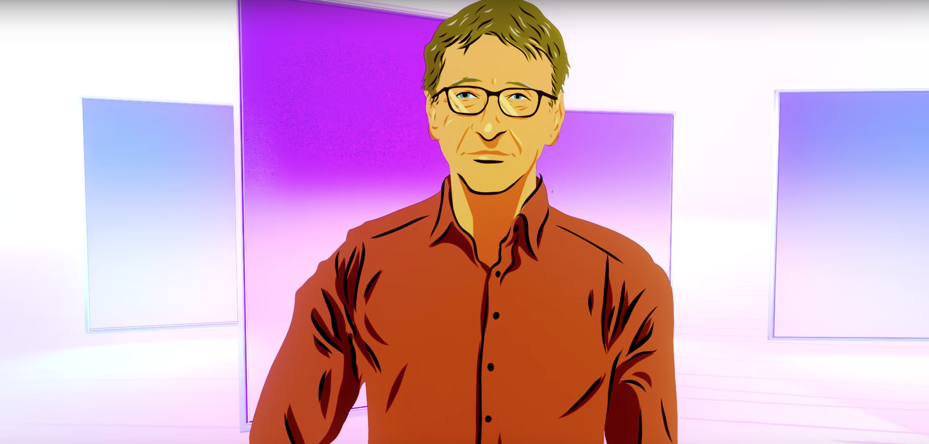 Bill Gates Recommends 5 Books With This Breathtaking Animation