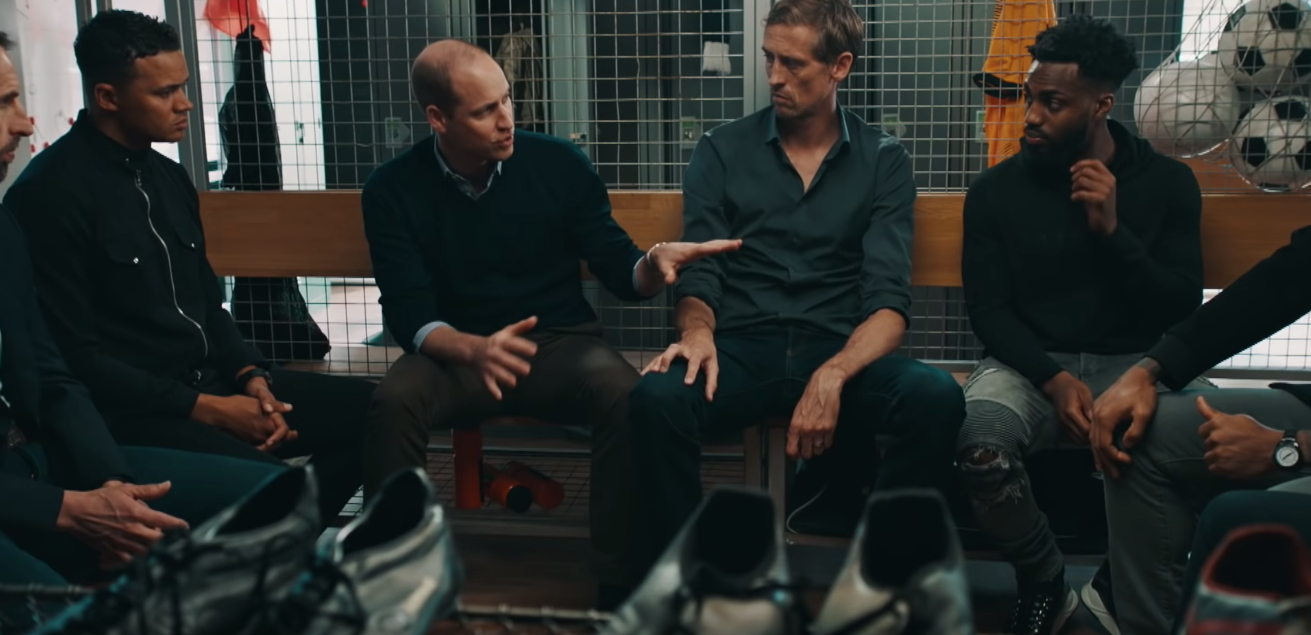 Prince William, Danny Rose and Premier League Footballers Talk About Mental Health